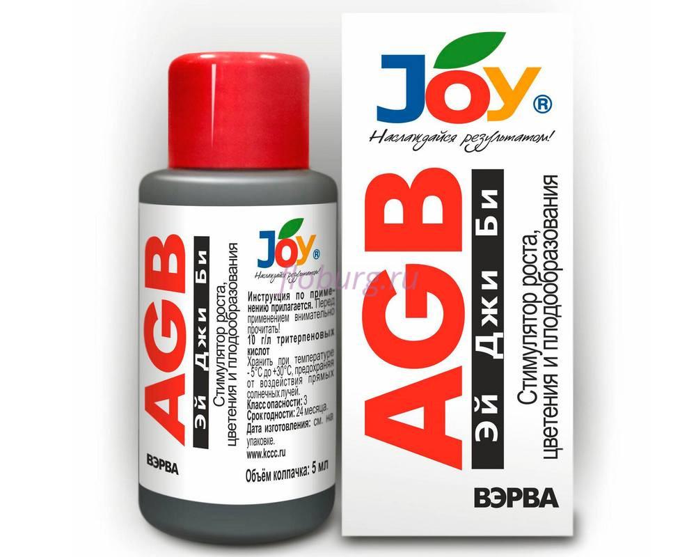 Удобрение жидкое JOY стимулятор роста AGB 50мл