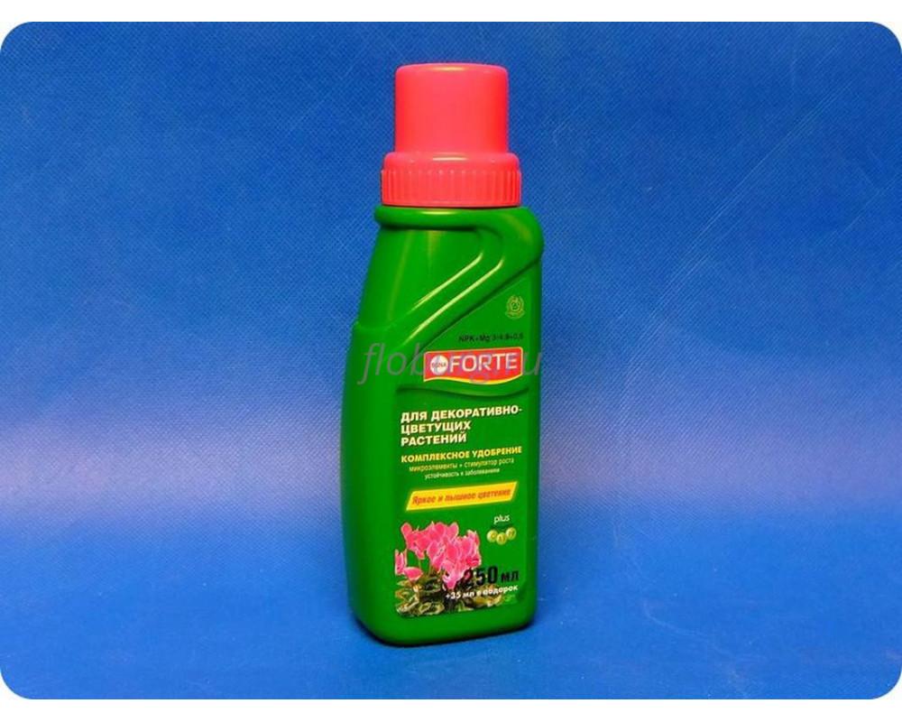 Бона Форте.Жидкое комплексное удобрение Bona Forte для декоративно-цветущих растений.