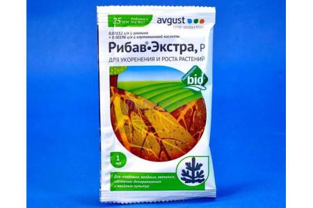 """Средство для укоренения и роста растений """"Рибав-экстра р"""" 1мл (Август)"""