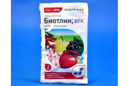 Средство для защиты растений от насекомых-вредителей «Биотлин» 3 мл (Avgust)