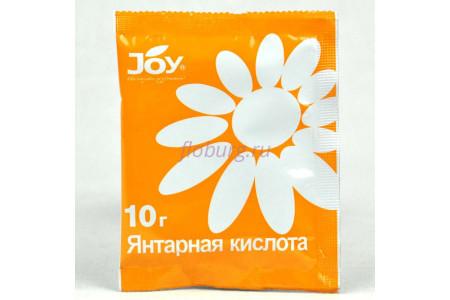 Сухое удобрение JOY с/у янтарная кислота 10г