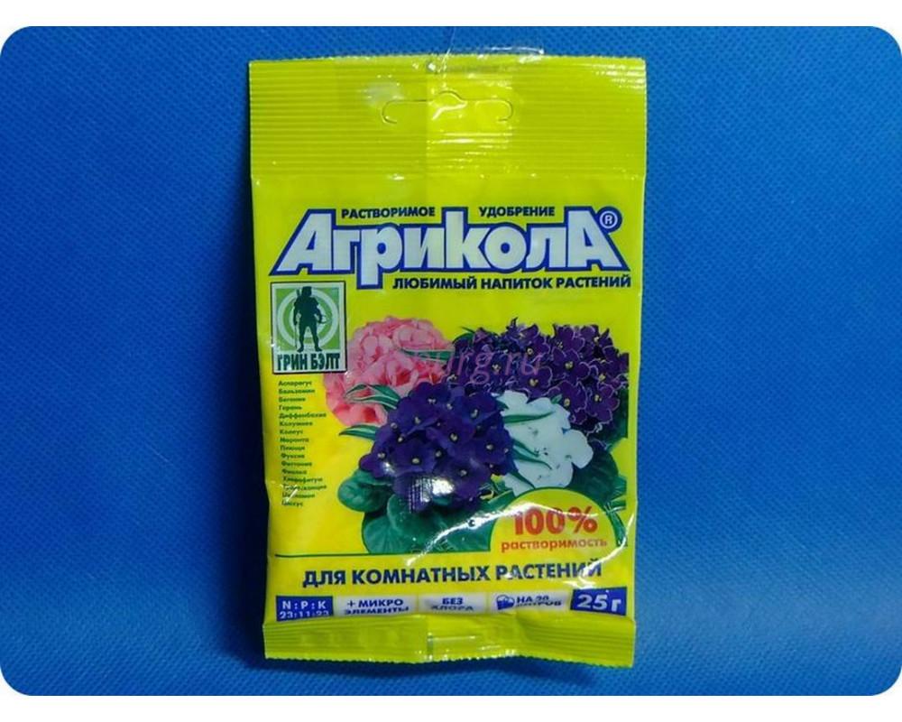 Сухое удобрение Агрикола Аква для комнатных растений  25 г
