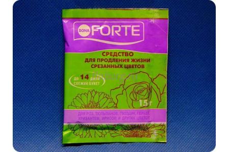Средство Бона Форте (Bona Forte) для срезанных цветов 15 г