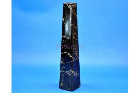 Ваза керамическая для сухоцветов  АРФА черная