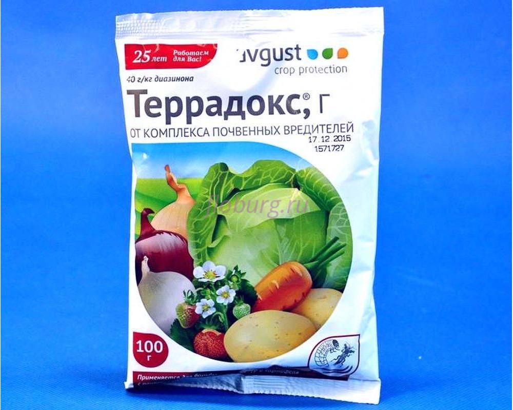 Средство от почвенных вредителей «Террадокс» 100 г (Август)