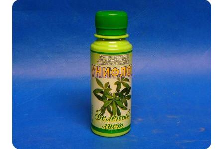 Удобрение Унифлор «Зеленый лист» 100мл.