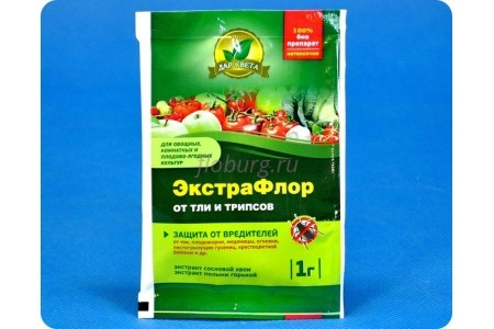 Средство защиты растений Экстрафлор от тли и трипсов 1г