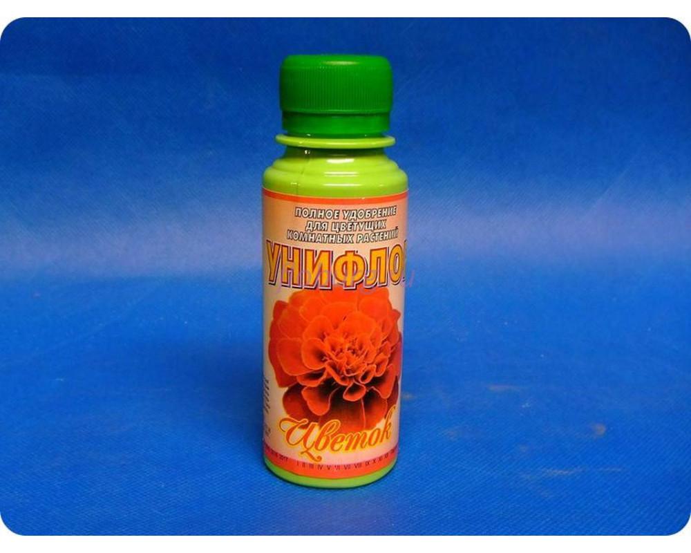 Удобрение Унифлор «Цветок» для цветущих горшечных растений 100мл.