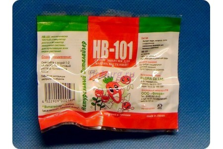 Удобрение стимулятор роста НВ-101 Виталайзер HB-101 для растений 6 мл