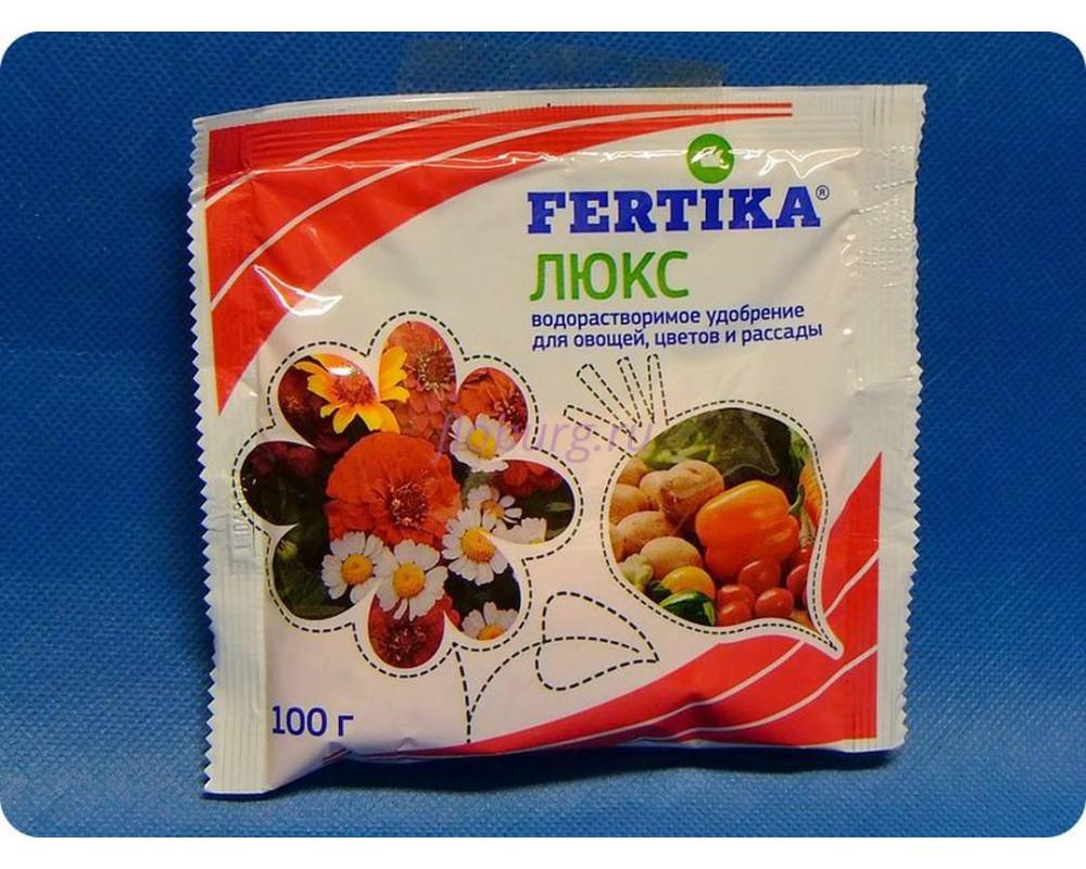 """Удобрение для комнатных цветов """"Фертика Люкс"""" кристаллическое 100 г"""
